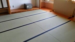 魚沼市の畳工事