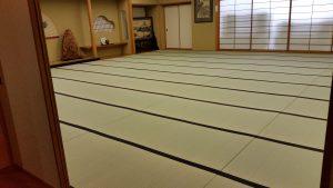 大広間の畳工事