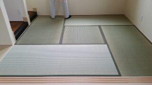 畳の敷き込み