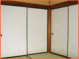 長岡市で障子・襖の張り替え工事も柳瀬畳内装