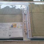 畳表の見本帳